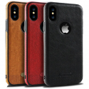 Custodia Pelle Sintetica Slim Fit Iphone 5/SE/6/7/8/X/XS/XR – 3 Colori Disponibili